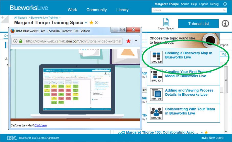 IBM Blueworks Live - Blogs
